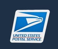 почтовая служба логоса мы Стоковая Фотография