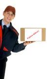 почтовая служба поставки стоковое изображение