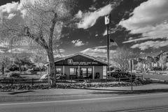 Почтовое отделение США в Beatty - BEATTY, США - 29-ОЕ МАРТА 2019 стоковое фото rf