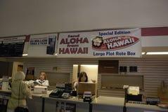 ПОЧТОВОЕ ОТДЕЛЕНИЕ _HAWAII СОЕДИНЕННЫХ ШТАТОВ Стоковые Фотографии RF