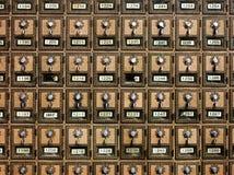 Почтовые отделения год сбора винограда Стоковое Фото
