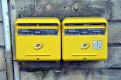 Почтовые ящики в Бордо, Франции Стоковые Изображения RF