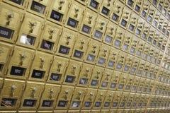 почтовые ящики почтового ящика Стоковое Фото