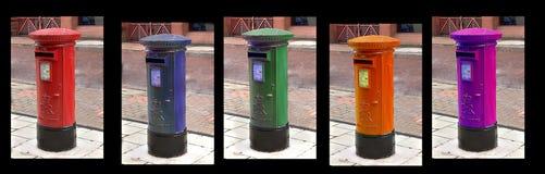 Почтовые ящики стоковые фотографии rf