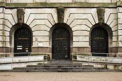 Почтовый офис Стоковое Изображение