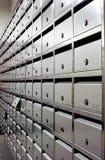 почтовый ящик блока аккуратный Стоковая Фотография