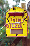 Почтовый ящик или почтовый ящик Стоковые Фотографии RF