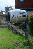 Почтовый ящик коробки эля Стоковые Фото