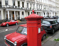 Почтовый ящик Лондона Стоковые Фотографии RF