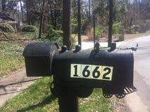 Почтовый ящик поезда стоковые фотографии rf