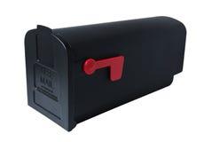 почтовый ящик пониженный флагом стоковое фото