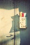 почтовый ящик старый Стоковое Изображение