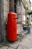 почтовый ящик старый Стоковое Фото