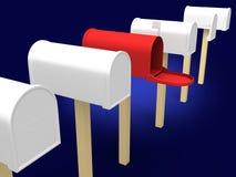 почтовый ящик Стоковые Изображения RF