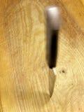 пошатыванный нож Стоковые Фото
