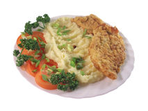 пошевеленная картошка мяса Стоковое Фото