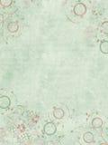 пошущенная над печать пергамента драгоценности сини слабая Стоковые Изображения RF