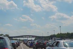 пошлина дороги контрольного пункта Стоковая Фотография