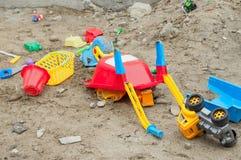 Пошлите игрушки Стоковое Фото