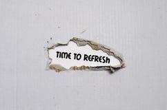 Пошлите концепцию обратной связи на тетради стоковые изображения