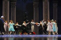 Пошлите Щелкунчика балета подарков- рождества Стоковые Фотографии RF