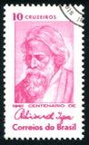 Поэт индейца Rabindranath Tagore Стоковые Изображения