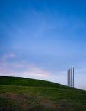 появляясь холм кондоминиума вне Стоковая Фотография