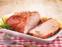 Поясница свинины Стоковое фото RF