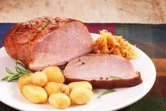 Поясница свинины Стоковая Фотография