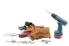 Пояс и бурильщик инструмента стоковая фотография