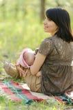 Подавая ребенок Стоковые Фото