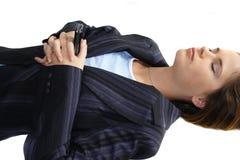 подавленная работа женщины Стоковое Изображение RF