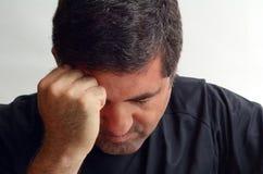 Подавленный человек Стоковое Изображение RF