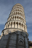 полагаясь башня pisa Стоковое Изображение