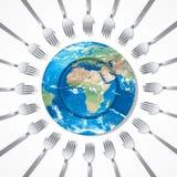 Подайте мир Стоковые Изображения RF