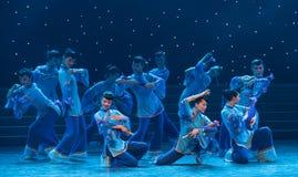 Подайте Ребенк-китайский народный танец Стоковые Фото
