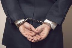 Под арестованием стоковая фотография