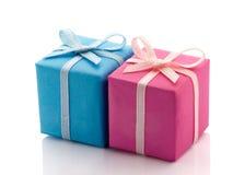 2 подарка Стоковые Фото