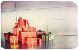 Подарки, настоящие моменты Стоковая Фотография RF