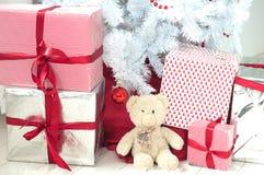 Подарки на рождество (горизонтальные) Стоковые Изображения RF