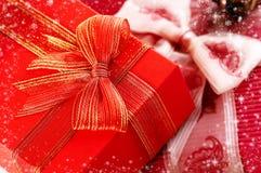 подарки на рождество Стоковые Изображения RF