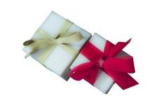 Подарки обернутые бумагой Стоковое Изображение
