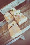 подарки подарка коробки благодарности wedding Стоковые Изображения RF
