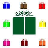 подарки рождества цветастые Стоковые Изображения