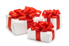 Подарки для рождества, Нового Года Стоковая Фотография RF
