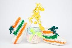 Подарки Knit для пасхи Стоковые Фото