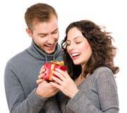 Подарок валентинки стоковые изображения rf