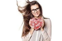 Подарок валентинки стоковая фотография rf
