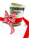 Подарок денег Стоковая Фотография
