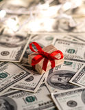 Подарок денег Стоковые Изображения RF